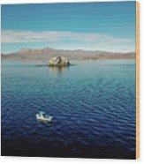 Serenity In The Sea Of Cortez  Wood Print