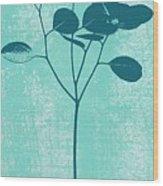 Serenity Wood Print by Linda Woods