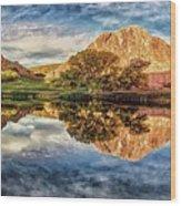 Serenity - Reflection Wood Print