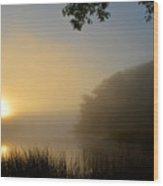 Serenity Rising Wood Print
