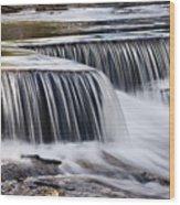 Serenity River Wood Print