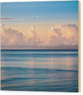 Serenity Sailing Wood Print