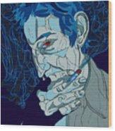 Serge Gainsbourg Wood Print
