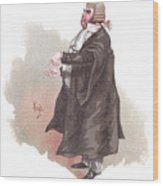 Sergeant Buzfuz Wood Print
