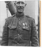 Sergeant York - World War I Portrait Wood Print