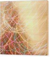 Series Dancing Lights 3 Wood Print