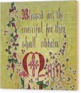 Sermon Wood Print