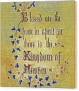 Sermon6 Wood Print