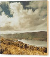 Serpentine Dam Tasmania Wood Print