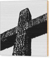 Serra Cross Wood Print