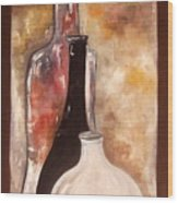 Sesav Wood Print by Andrea Vazquez-Davidson