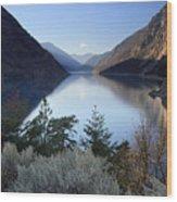 Seton Lake  British Columbia Wood Print