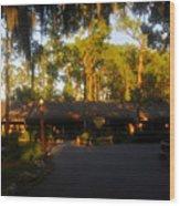 Settlement Trading Post Wood Print
