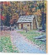 Settler Wood Print