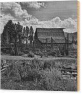 Settler's Barn Wood Print