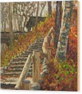 Seven Bridges Wood Print