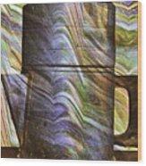 Seven Cups Wood Print
