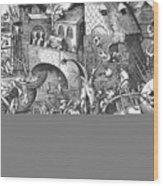 Seven Deadly Sins, 1558 Wood Print by Granger