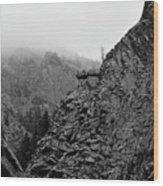 Seven Falls Pastoral Study 3 Wood Print