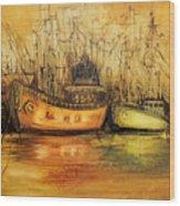 Seven Seas Wood Print by Fatima Stamato