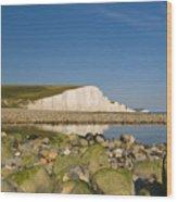 Seven Sisters Sussex Wood Print
