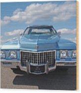 Seventies Superstar - '71 Cadillac Wood Print