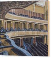 Severance Balcony And Main Floor Wood Print