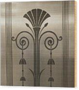 Severance Hall Art Deco Door Detail Wood Print