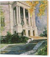 Severance Hall Wood Print