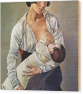 Severini: Maternity, 1916 Wood Print