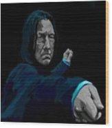 Severus Wood Print by Lisa Leeman