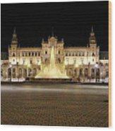 Sevilla Seville Andalucia Spain Wood Print