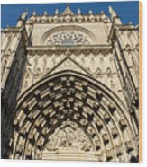 Seville - The Cathedral Wood Print