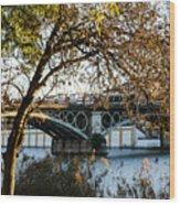 Seville - The Triana Bridge 2  Wood Print
