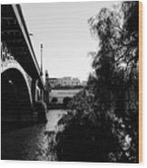 Seville - Triana Bridge Wood Print
