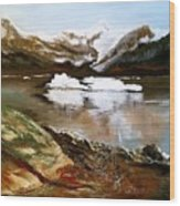 Seward Bay Wood Print