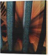 Sewer Wood Print