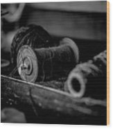 Sewing For Dummies Wood Print
