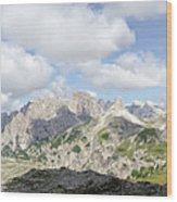 Sextener Dolomites Wood Print
