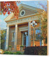 Seymour Public Library Wood Print