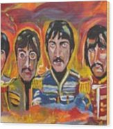 Sgt Pepper Wood Print