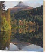 Sgurr Na Ciche The Pap Of Glencoe Wood Print