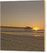 Sh213266 Garden City Sunrise Wood Print