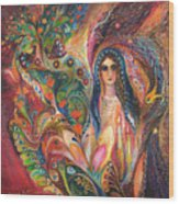 Shabbat Queen Wood Print