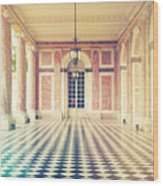 Shabby Chic Versailles Columns Of Grand Trianon Wood Print