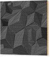 Shaddows Wood Print