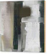 Shades Of Grey Wood Print