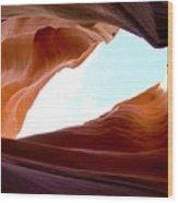 Shades Of Sandstone Wood Print