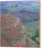 Shades Of The Canyon Wood Print