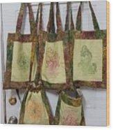 Shadi Handbags Wood Print